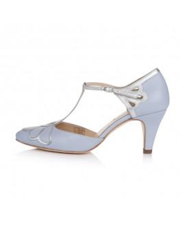 Rachel Simpson Chaussure Mariage Gardenia II Blue