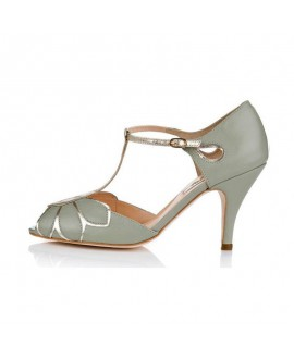 Rachel Simpson Chaussure Mariage Mimosa Mint