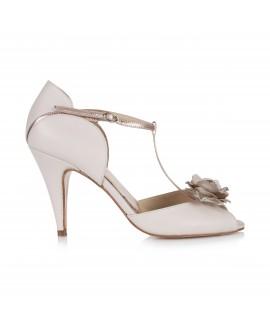 Rachel Simpson Chaussure Mariage Gabriella Blush