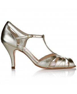 Rachel Simpson Chaussure Mariage Ginger Gold