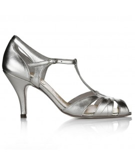 Rachel Simpson Chaussure Mariage Ginger Silver