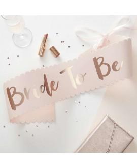 Ceinture 'Bride to Be' - Team Bride