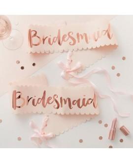 Écharpes Bridesmaid Team Bride