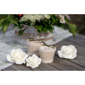 Santex Roses Blanches