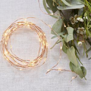 Guirlande de lumières en or rose | Ginger Ray