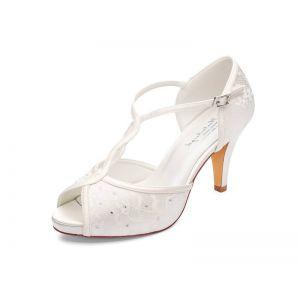 G. Westerleigh Betty Chaussure de Mariage satin