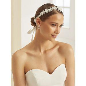 Bianco Evento 389 Bande de Cheveux Floral