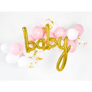 Ballon d'aluminium Baby Or