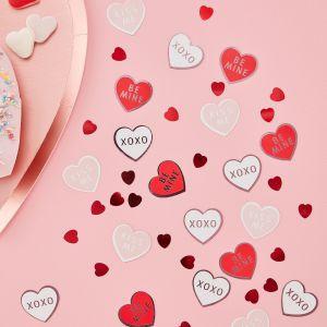 Ginger Ray VA-901 Be My Valentine Coeurs de confettis