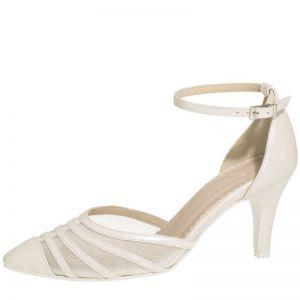 Fiarucci Bridal Cilla Chaussures de mariage ivoire