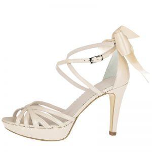 Fiarucci Bridal Dominique Chaussures de mariée Blush