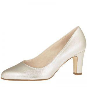 Fiarucci Bridal Octavia Chaussures de Mariée, Couleur: Or-Argent