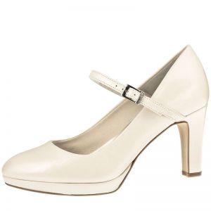 Fiarucci Bridal Ingrid Chaussures de mariée ivoire cuir