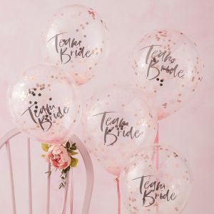 Ginger Ray FH-214 Floral Hen Ballons Confettis