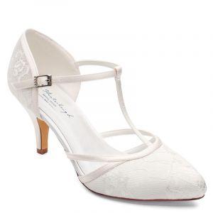 G. Westerleigh Jasmine chaussures mariage ivoire