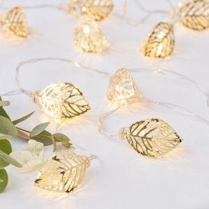 Feuilles de guirlandes légères - Gold Wedding