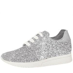 Fiarucci Bridal Lizzi Silver Glitter Chaussures de mariée