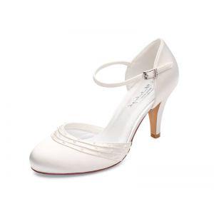 Chaussures de mariage Melissa Ivoire | G.Westerleigh