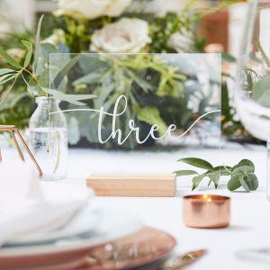 Ginger Ray BR-316 Botanical Wedding Numéros de Table