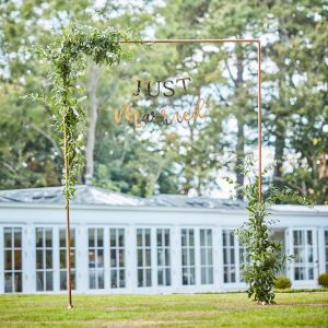 Ginger Ray BR-349 Botanical Wedding Cadre en Cuivre