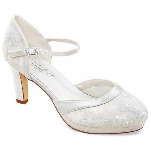 G.Westerleigh Regina Chaussure mariage ivoire