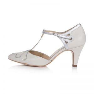 Rachel Simpson Chaussure Mariage Gardenia II Ivory