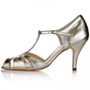 Rachel Simpson Chaussure Mariage Ginger Gold