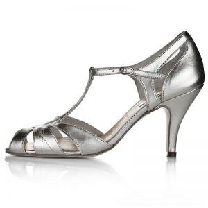 Rachel Simpson Chaussure Mariage Ginger Silver