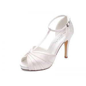 G. Westerleigh Scarlett Chaussures de mariée ivoire