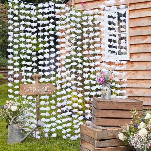Ginger Ray CW-273 Rustic Country Fleurs Backdrop