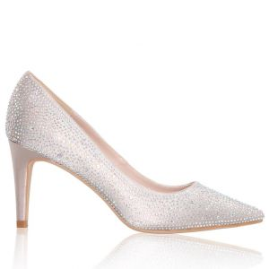 The Perfect Bridal Company Stara Nude Chaussures de mariée