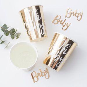 Ginger Ray OB-102 Oh Baby Tasses