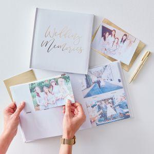 Ginger Ray GO-123 Gold Wedding Album Photo