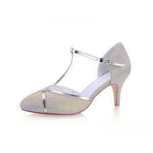 G. Westerleigh Chaussure de Mariage Zara Champagne