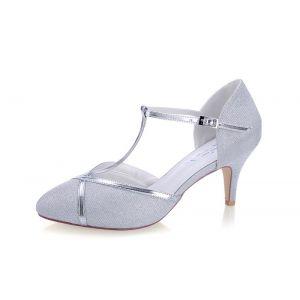G. Westerleigh Zara Argent Chaussure de Mariage