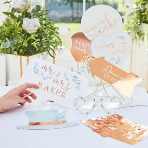 Ginger Ray BR-340 Botanical Wedding Accessoires Photobooth